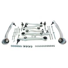 02 (from 9/01)-04 Audi A6; 99-04 A6 Quattro; 03 (from 6/02)-05 VW Passat (11 Piece) Front Susp Kit