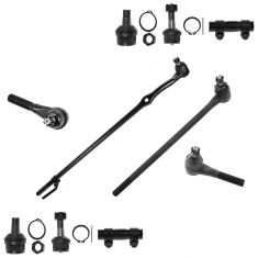 80-96 Ford Bronco, F150 4WD 10 Piece Front Suspension Kit