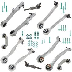 02-06 (to Chassis #40000) Audi A4, A4 Quattro; 04-05 S4 Front Suspension (13 Piece) Kit