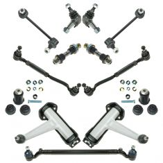 92-93 MB 300, 400, 500, 600 Series; 98-99 CL; 94-99 S Class 12 Piece Front Suspension Kit