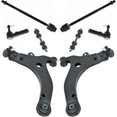 05-08 LaCrosse; 00-13 Impala; 00-07 Monte; 97-08 Grand Prix 8 Piece Suspension Kit