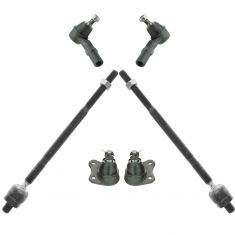 6/98-10 VW Beetle; 8/98-06 Golf; 8/98-05 Jetta Tie Rod & Ball Joint Kit
