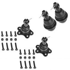 1996-00 Chevy GMC 4WD Upper & Lower Ball Joint Set of 4