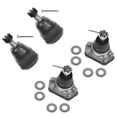 85-05 Chevy Astro GMC Safari 2wd Front Upper & Lower Ball Joint Set of 4