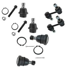 04-06 QX56; 05 Armada; 04-11 Titan 6 piece Suspension Kit