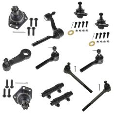97-05 Blazer, S10 4X4 12 Piece Steering & Suspension Kit