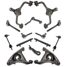 98-02 Crown Victoria, Grand Marquis, Towncar 14 Piece Front Steering & Suspension Kit