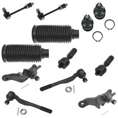 96-02 Toyota 4Runner 4WD 12 Piece Front Steering & Suspension Kit
