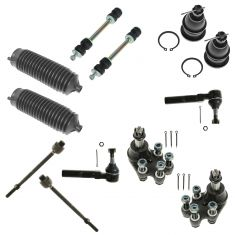 99-07 Silverado, Sierra 1500 (Std & Ext Cab) Old Bdy w/2WD Frt Ball Jnt & Tie Rod Kit (12 Piece Set)
