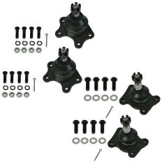 93-98 Toyota T100; 89-95 4Runner; 89-95 Pickup Front Upper & Lower Ball Joint Kit (Set of 4)