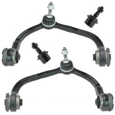 03-04 (to 12-1-03) Ford Expedition (exc Air Susp) Frt Up Control Arm w/Lwr Ball Joint Kit (Set of 4)