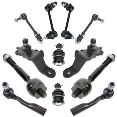 01-02 Toyota Sequoia Front & Rear Steering Suspension Kit (12 Piece)