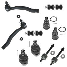97-99 Acura CL; 94-97 Honda Accord; 95-98 Odyssey; 96-99 Isuzu Oasis Suspension Kit (10 Piece Set)