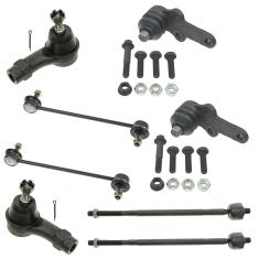 00-04 Ford Focus Front Steering & Suspension (8 Piece)