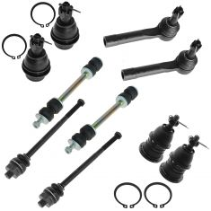 99-07 Cadillac, Chevy, GMC Pickup/SUV Multifit Ball Joint Tie Rod & Sway Bar (Set of 10)