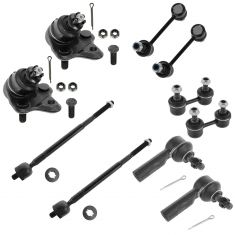 96-02 Toyota Corolla, 96-02 Chevy Geo Prizm 10 Piece Front & Rear Steering/Suspension Kit