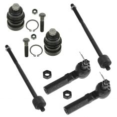 00-05 Neon; 01-05 PT Cruiser Inner & Outer Tier Rod w/ Lower Ball Joint Kit (6 Piece)