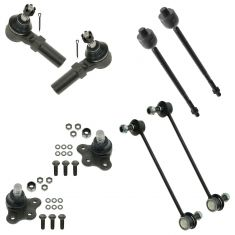 00-05 Saturn L Sedan, Wagon Front Steering & Suspension Kit (8 Piece)