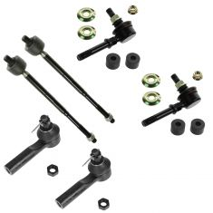 95-06 Nissan Sentra; 95-98 200SX (w/ PS) Front Steering & Suspension Kit (6 Piece)