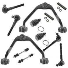 97-04 Ford Lincoln 2WD Front Steering & Suspension Kit (12 Piece)