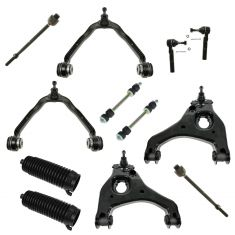 99-07 Silverado Sierra 1500 2WD Front Steering & Suspension Kit (12 Piece)