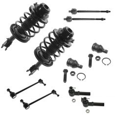 96-00 Chrysler Dodge Plymouth Mini Van Front Steering & Suspension Kit (10 Piece)