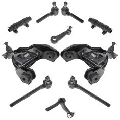 98-05 Chevy, GMC, Olds, Isuzu Mid Size Truck SUV 4WD Steering & Suspention Kit (10 Piece Set)