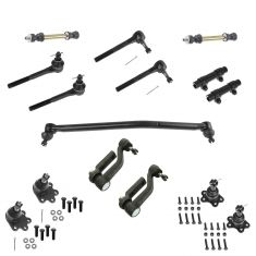 90-05 Chevy Astro GMC AWD Front Steering & Suspension Kit (15 Piece)