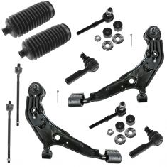 96-99 Infiniti I30; 95-99 Nissan Maxima Front Steering & Suspension Kit (10 Piece)