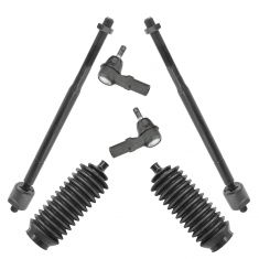 92-96 Lexus ES300; 92-96 Toyota Camry; 95-96 Toyota Avalon Tie Rod & Stg Bellows Kit (Set of 6