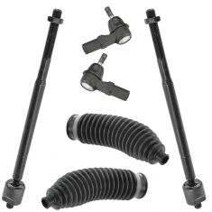 97-01 Lexus ES300; 97-01 Camry; 97-04 Avalon; 99-03 Avalon Tie Rod & Stg Bellows Kit (Set of 6