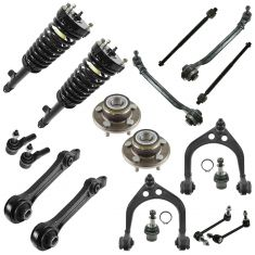 05-10 Chrysler 300; 06-10 Charger; 05-08 Magnum RWD Front Steering & Suspension Kit (18 Piece)