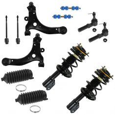 97-11 Buick Chevy Pontic Multifit Front Steering & Suspension Kit (12 Piece)