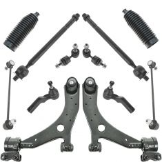 04-09 Mazda3 (exc Speed); 06-13 Mazda5 Front Steering & Suspension Kit (12 Piece)