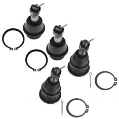06-08 Dodge Ram 1500 2WD (exc Mega Cab) 6034 Upper & Lower Ball Joint Set of 4