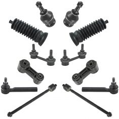 00-04 Subaru Outbak; Legacy Front Steering & Suspension Kit (12 Piece)