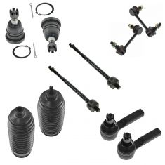 00-01 Infiniti I30; 02-04 I35; 00-02 Nissan Maxima Front Steering & Suspension Kit (10 piece)