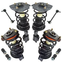 97-05 Century; 97-04 Regal; 97-03 Grand Prix Front Rear Steering & Suspension Kit (8 Piece)