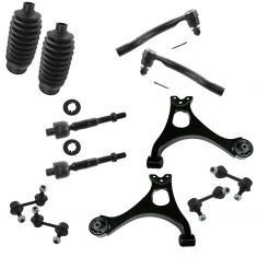 06-11 Honda Civic (exc Hybrid and SI) Front/Rear Steering & Suspension Kit (12 Piece)