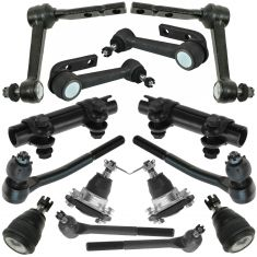 90-05 Chevy Astro; GMC Safari Steering & Suspension Kit (12 Piece)