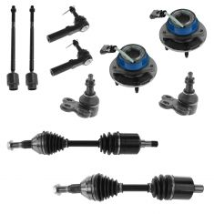 1997-06 Century Regal Intrigue GP Monte Carlo Impala Steering & Suspension Kit (10 Piece)