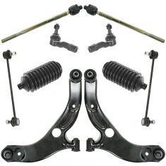 01-03 Mazda Protege; 02-03 Protege5 Steering & Suspension Kit (10 Piece)