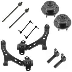 05-10 Ford Mustang Front Steering & Suspension Kit (10 Piece)