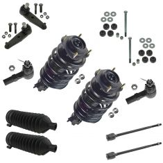 97-02 Ford Escort; 97-99  Mercury Tracer Steering & Suspension Kit (12 Piece)