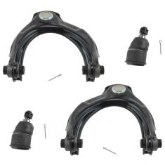 08-12 Accord; 09-14 TL TSX Front Upper Control Arm & Lower Ball Joint Kit (4 Piece)