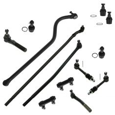 98-99 Dodge Ram 2500, 3500 w/4WD Front Steering & Suspension Kit (13 Piece)