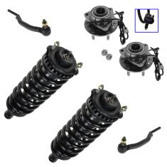 04-07 Buick Rainier; 02-09 Chevy Trailblazer, GMC Envoy Front 12 Piece Steering & Suspension Kit