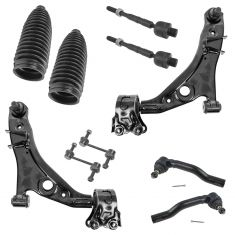 2007-14 Ford Edge; 2007-14 Lincoln MKX Front 10 Piece Steering & Suspension Kit