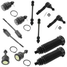 02-05 Ford Explorer; Mercury Mountaineer 4.0L Front Steering & Suspension kit (12 Piece)