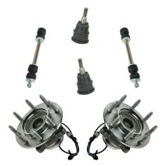 03-13 Express Savava Van 2500 3500 Front Suspension Kit (6 Piece)